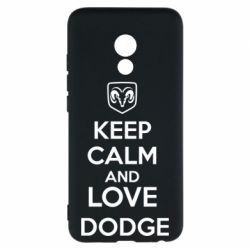Чехол для Meizu Pro 6 KEEP CALM AND LOVE DODGE - FatLine