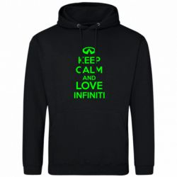 Толстовка KEEP CALM and LOVE INFINITI