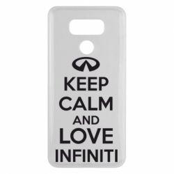 Чехол для LG G6 KEEP CALM and LOVE INFINITI - FatLine