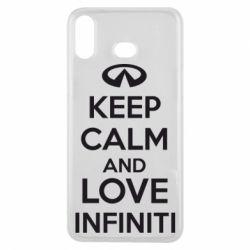Чехол для Samsung A6s KEEP CALM and LOVE INFINITI - FatLine