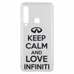 Чехол для Samsung A9 2018 KEEP CALM and LOVE INFINITI - FatLine