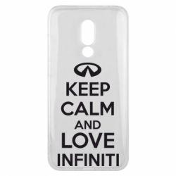 Чехол для Meizu 16x KEEP CALM and LOVE INFINITI - FatLine