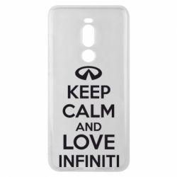 Чехол для Meizu Note 8 KEEP CALM and LOVE INFINITI - FatLine