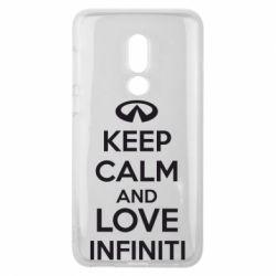 Чехол для Meizu V8 KEEP CALM and LOVE INFINITI - FatLine