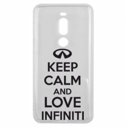 Чехол для Meizu V8 Pro KEEP CALM and LOVE INFINITI - FatLine