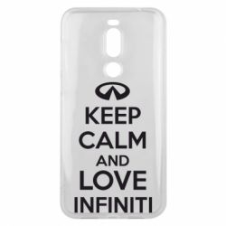 Чехол для Meizu X8 KEEP CALM and LOVE INFINITI - FatLine