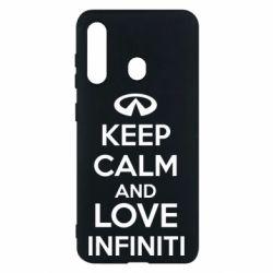 Чехол для Samsung M40 KEEP CALM and LOVE INFINITI