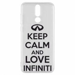 Чехол для Huawei Mate 10 Lite KEEP CALM and LOVE INFINITI - FatLine