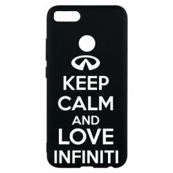 Чехол для Xiaomi Mi A1 KEEP CALM and LOVE INFINITI - FatLine