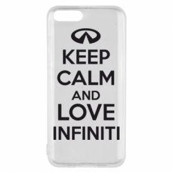 Чехол для Xiaomi Mi6 KEEP CALM and LOVE INFINITI - FatLine