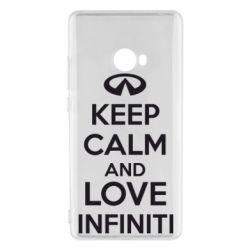 Чехол для Xiaomi Mi Note 2 KEEP CALM and LOVE INFINITI - FatLine