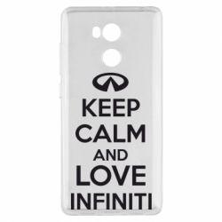 Чехол для Xiaomi Redmi 4 Pro/Prime KEEP CALM and LOVE INFINITI - FatLine