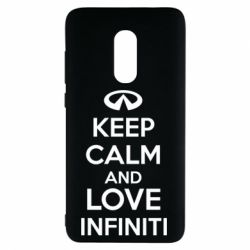 Чехол для Xiaomi Redmi Note 4 KEEP CALM and LOVE INFINITI - FatLine