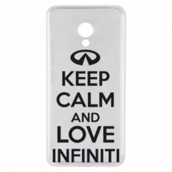 Чехол для Meizu M5 KEEP CALM and LOVE INFINITI - FatLine