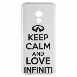 Чехол для Meizu Pro 6 KEEP CALM and LOVE INFINITI - FatLine