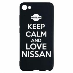 Чехол для Meizu U10 Keep calm and love Nissan - FatLine