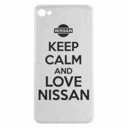 Чехол для Meizu U20 Keep calm and love Nissan - FatLine
