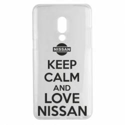Чехол для Meizu 15 Plus Keep calm and love Nissan - FatLine