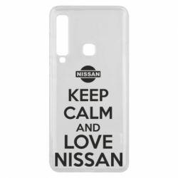 Чехол для Samsung A9 2018 Keep calm and love Nissan - FatLine
