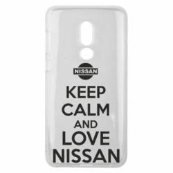Чехол для Meizu V8 Keep calm and love Nissan - FatLine