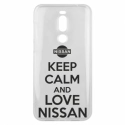 Чехол для Meizu X8 Keep calm and love Nissan - FatLine