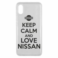 Чехол для Xiaomi Mi8 Pro Keep calm and love Nissan - FatLine