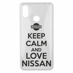 Чехол для Xiaomi Mi Max 3 Keep calm and love Nissan - FatLine
