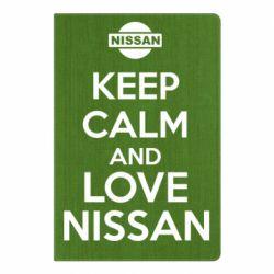 Блокнот А5 Keep calm and love Nissan - FatLine