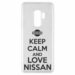 Чехол для Samsung S9+ Keep calm and love Nissan - FatLine