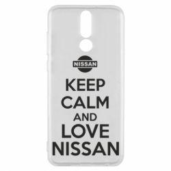 Чехол для Huawei Mate 10 Lite Keep calm and love Nissan - FatLine