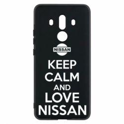 Чехол для Huawei Mate 10 Pro Keep calm and love Nissan - FatLine