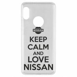 Чехол для Xiaomi Redmi Note 5 Keep calm and love Nissan - FatLine