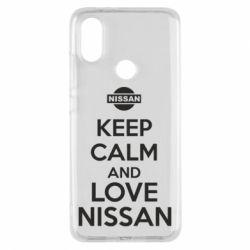 Чехол для Xiaomi Mi A2 Keep calm and love Nissan - FatLine