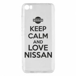 Чехол для Xiaomi Xiaomi Mi5/Mi5 Pro Keep calm and love Nissan - FatLine