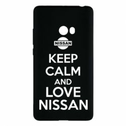 Чехол для Xiaomi Mi Note 2 Keep calm and love Nissan - FatLine