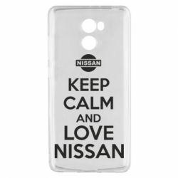 Чехол для Xiaomi Redmi 4 Keep calm and love Nissan - FatLine
