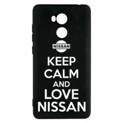 Чехол для Xiaomi Redmi 4 Pro/Prime Keep calm and love Nissan - FatLine
