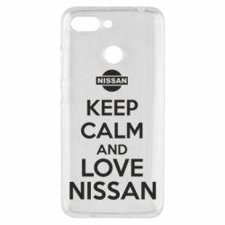 Чехол для Xiaomi Redmi 6 Keep calm and love Nissan - FatLine