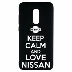 Чехол для Xiaomi Redmi Note 4 Keep calm and love Nissan - FatLine