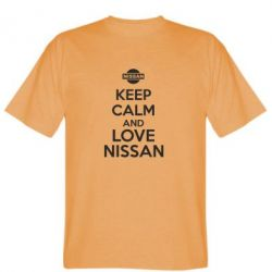 Мужская футболка Keep calm and love Nissan - FatLine