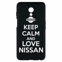 Чехол для Meizu M6s Keep calm and love Nissan - FatLine