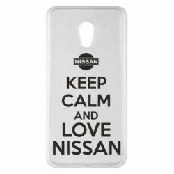 Чехол для Meizu Pro 6 Plus Keep calm and love Nissan - FatLine