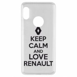 Чехол для Xiaomi Redmi Note 5 KEEP CALM AND LOVE RENAULT