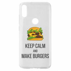 Чехол для Xiaomi Mi Play Keep calm and make burger