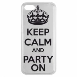 Чехол для Huawei Y5 2018 KEEP CALM and PARTY ON - FatLine