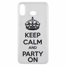 Чехол для Samsung A6s KEEP CALM and PARTY ON - FatLine