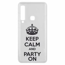 Чехол для Samsung A9 2018 KEEP CALM and PARTY ON - FatLine