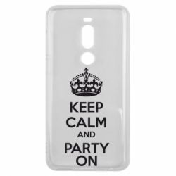 Чехол для Meizu V8 Pro KEEP CALM and PARTY ON - FatLine
