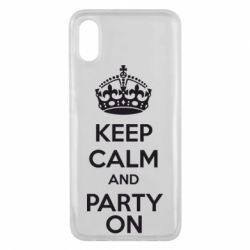 Чехол для Xiaomi Mi8 Pro KEEP CALM and PARTY ON - FatLine