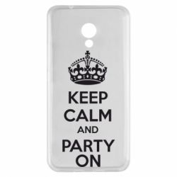 Чехол для Meizu M5s KEEP CALM and PARTY ON - FatLine